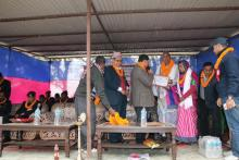 चन्द्रनगर गाउँपालिका खुल्ला दिशा मुक्त्त घोषणा कार्यक्रम